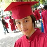 名符其實的小紅帽..攝於2006.11.29..逢甲人言前..