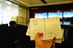 護照印章..